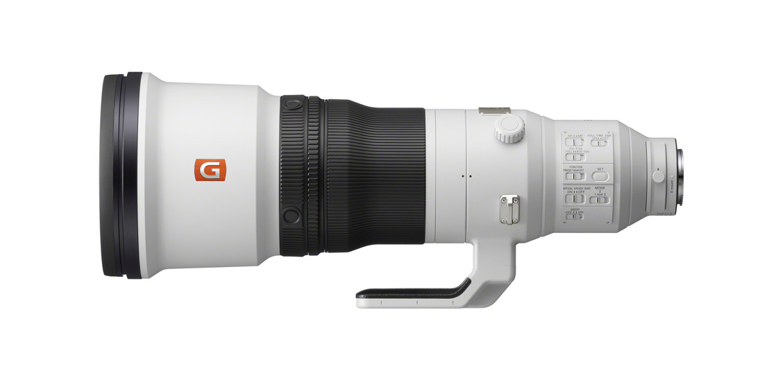 Sony Introduces Super-Telephoto 600mm F4 GM OSS & 200-600mm F5.6-6.3 G OSS Lenses