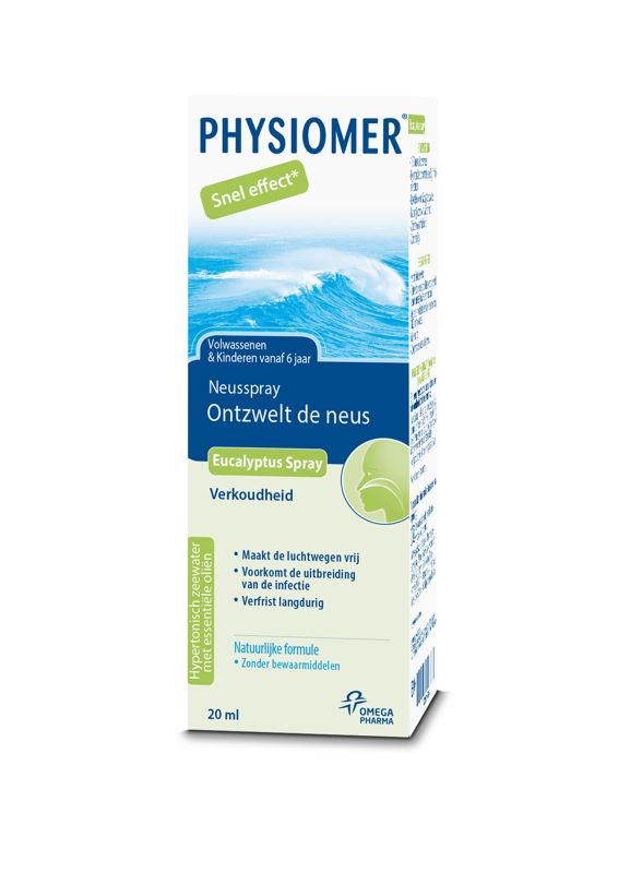 Physiomer Eucalyptus Spray 20ml: 7,45€
