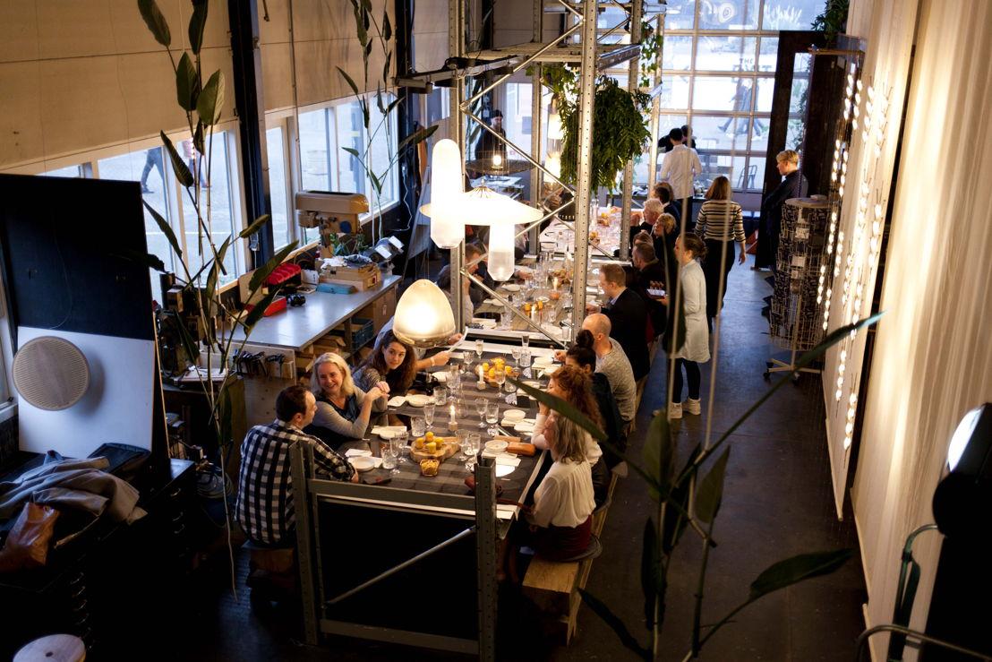 Dinner Van Tot at Sectie Cstudiosduring Dutch Design Week in Eindhoven