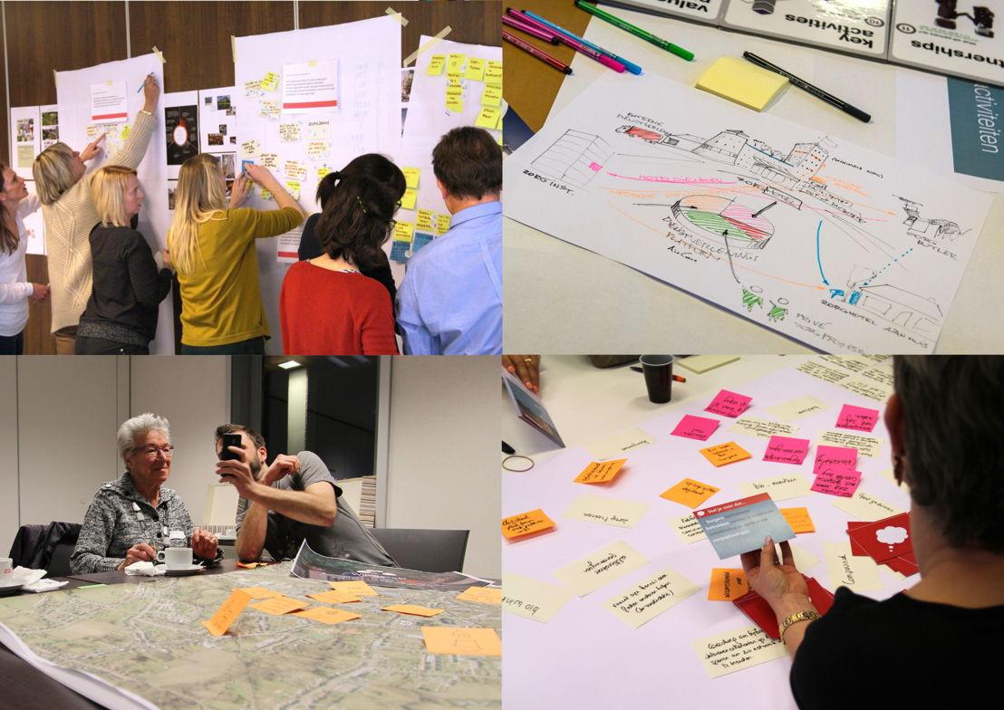 Aalst stad met zicht op zorg! Sfeerbeeld workshops, Studio Dott ism AIPA en Pantopicon voor Stad Aalst (foto Studio Dott) - Henry van de Velde Design Research Award 16