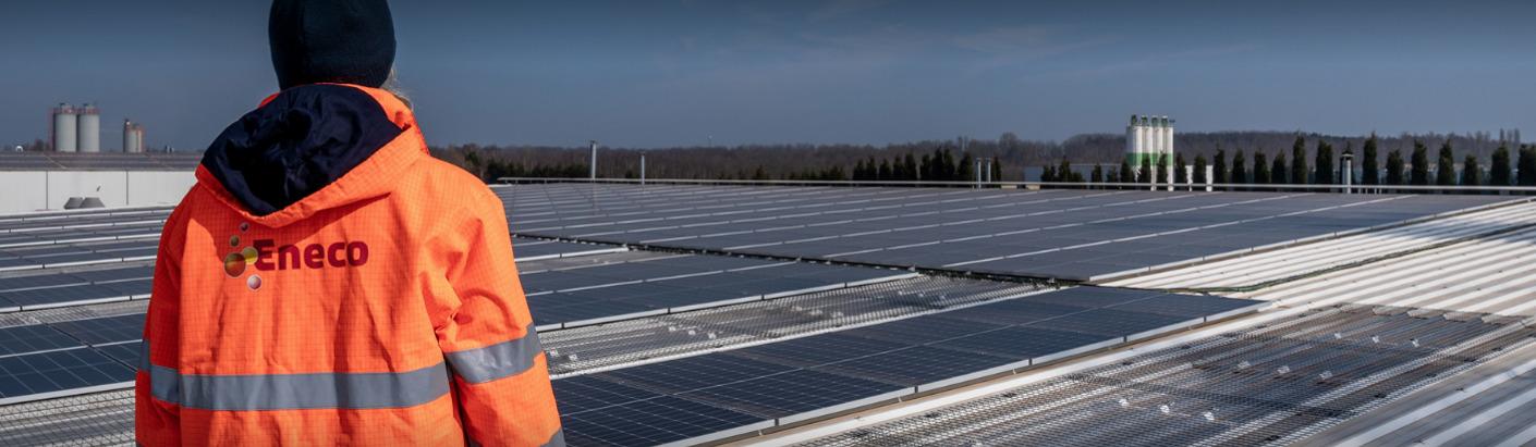 Eneco wordt opnieuw de grootste producent van zonne-energie van België