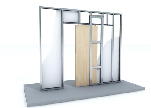 Installer une porte coulissante dans une cloison en plaques de plâtre ? Un jeu d'enfant !
