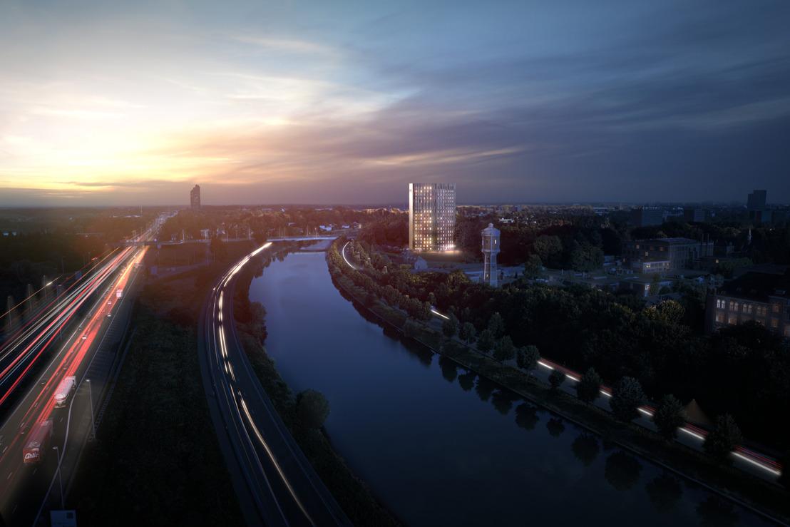 Met je hoofd in de wolken: hoogste studententoren van Vlaanderen duikt op in Gent