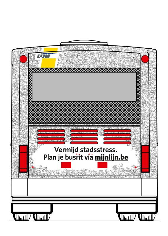 Habillage du bus