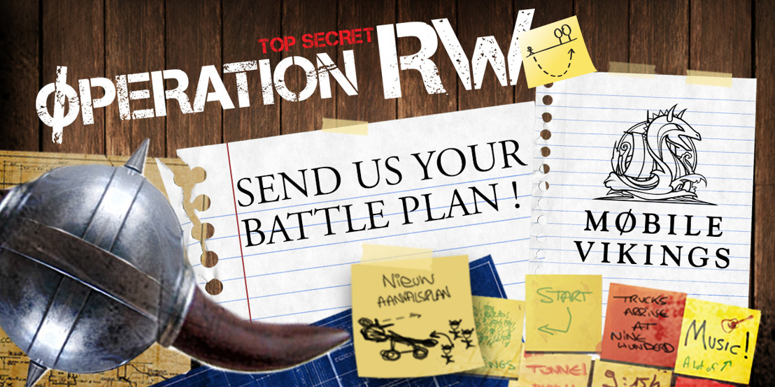 Mobile Vikings strive for a mobile revolution this festival summer with #operationrw