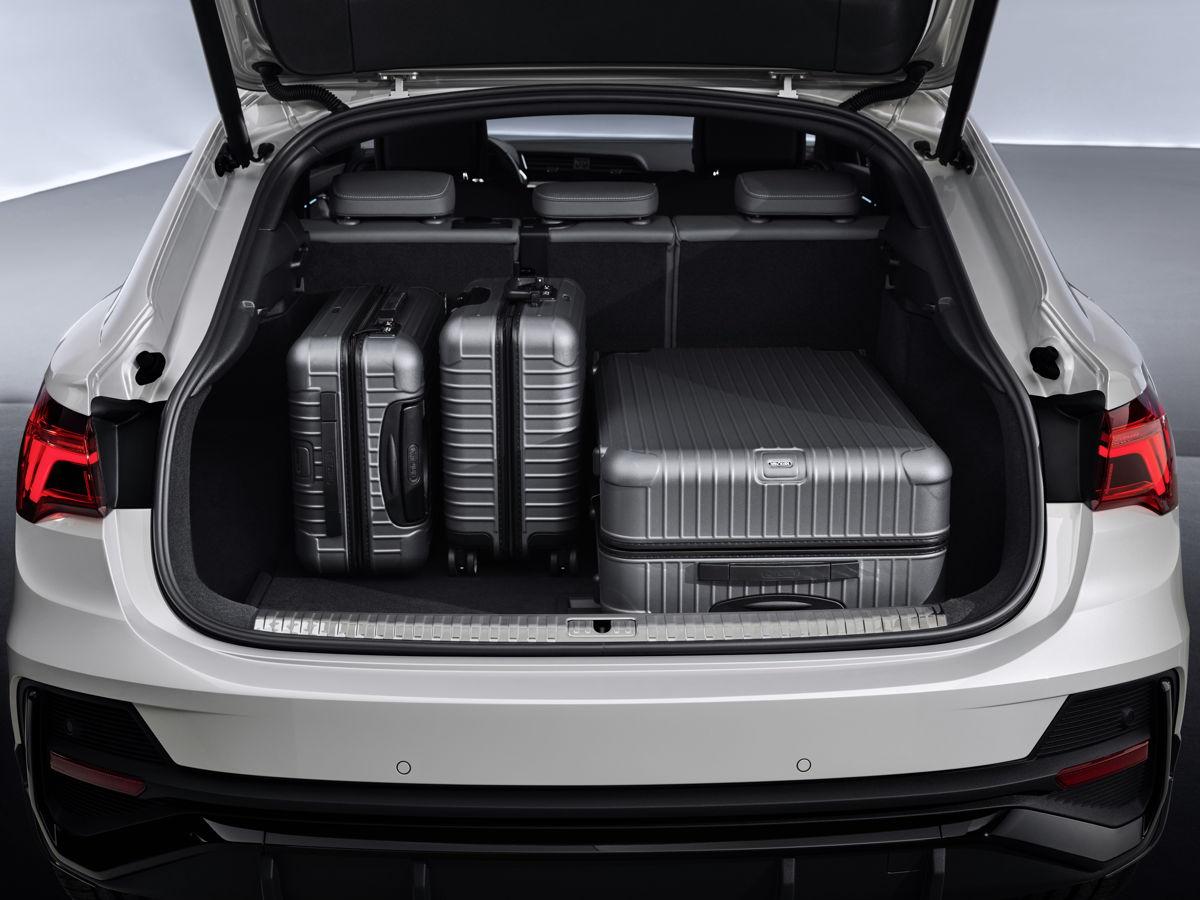 Un coffre généreux pour l'Audi Q3 Sportback