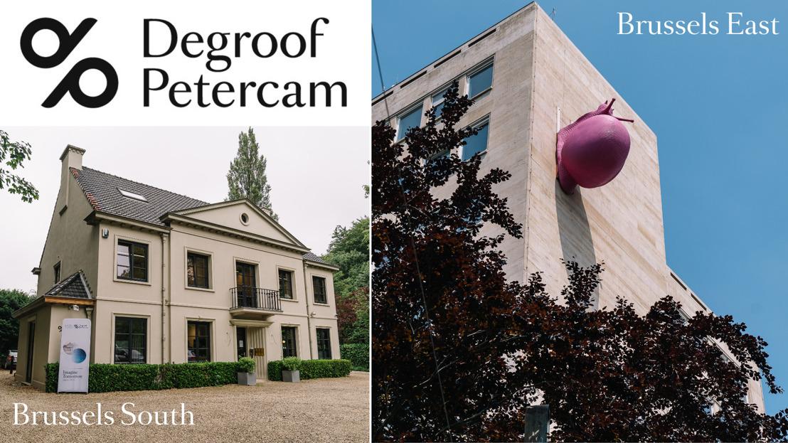 Degroof Petercam renforce sa présence en périphérie de Bruxelles avec l'ouverture de deux nouveaux bureaux