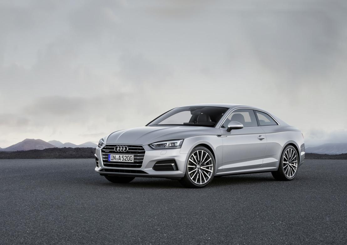 Sportieve elegantie: de nieuwe Audi A5 en S5 Coupé