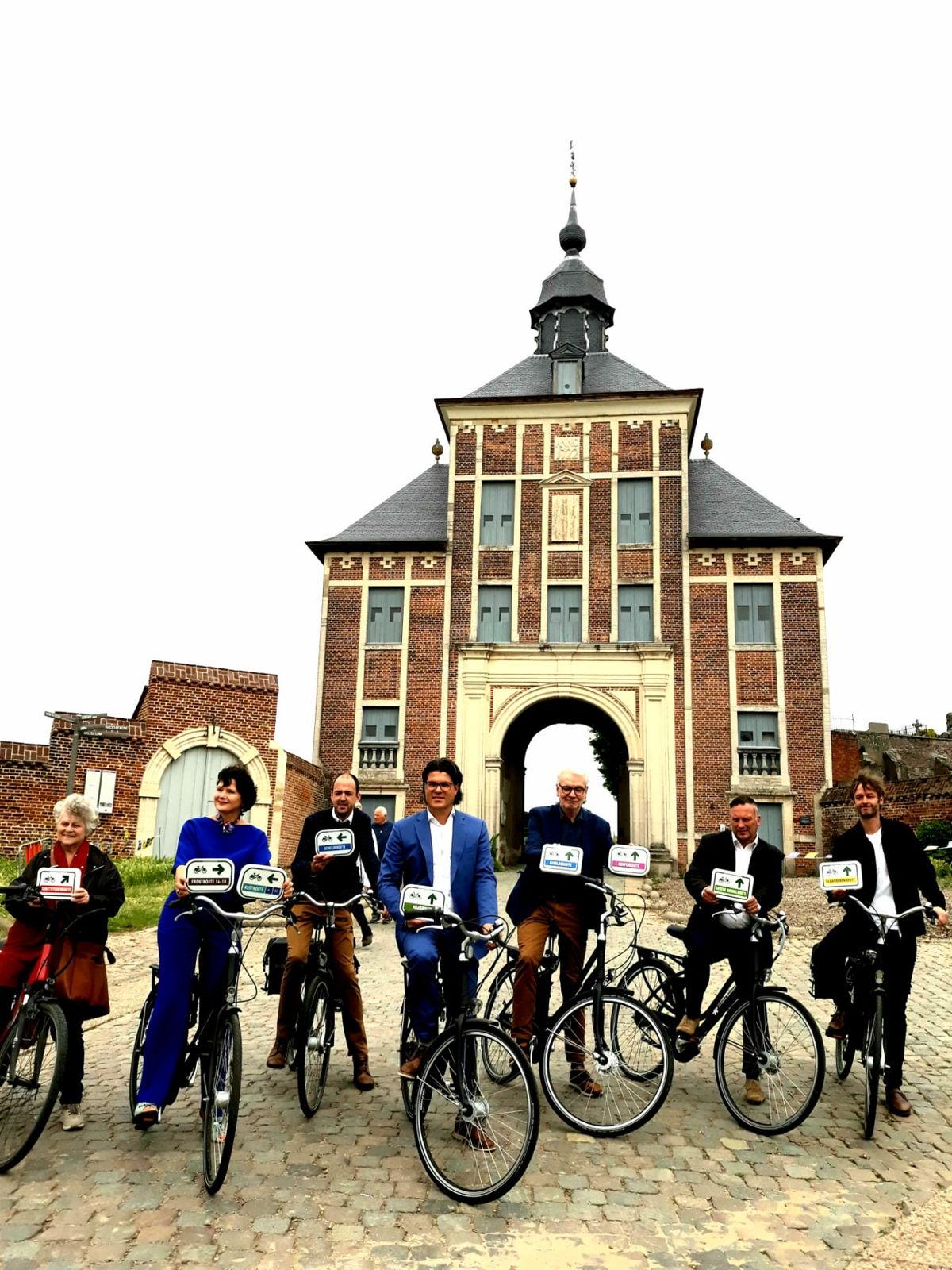 De laatste twee icoonroutes werden op 25 juni voorgesteld door Vlaanderen en de vijf Vlaamse provincies aan de Abdij van Park in Leuven