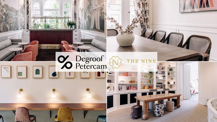 Degroof Petercam ondersteunt de businessclub voor vrouwen 'The Nine' als corporate sponsor.