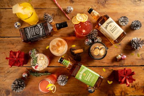 Jack Daniel's te trae cócteles navideños para que el ponche no sea lo único con piquete