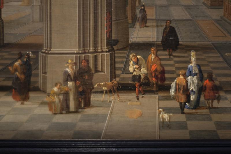 Pieter Neeffs, Interieur van de Onze-Lieve-Kathedraal Langdurig bruikleen, particuliere verzameling, foto Ans Brys