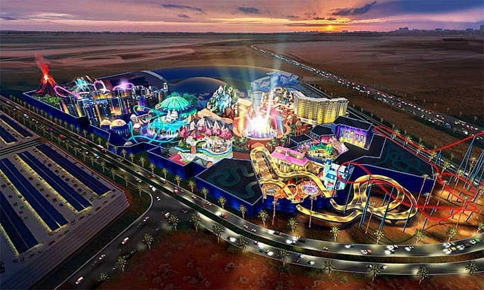 DUBAI TO HIT (ANOTHER) RECORD WITH WORLD'S LARGEST THEME PARK