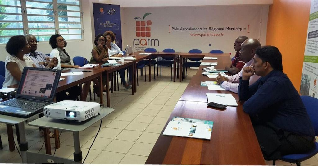 OECS Trade Mission meets with Agricultural Stakeholders in Martinique.