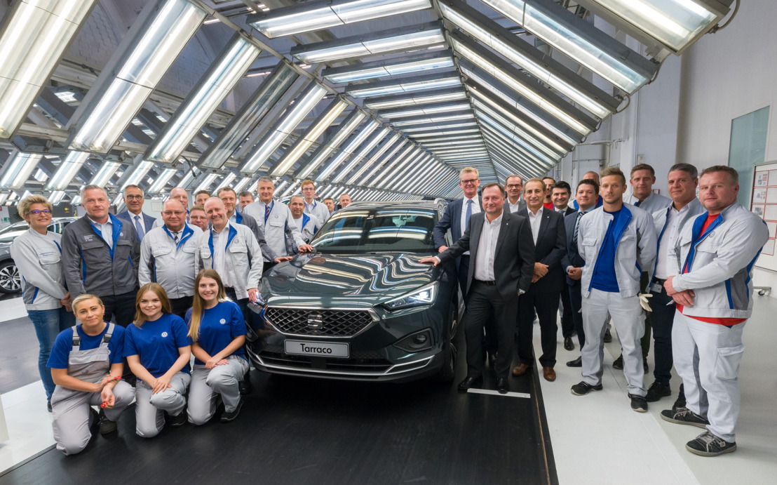 Début de la production de la SEAT Tarraco à Wolfsburg