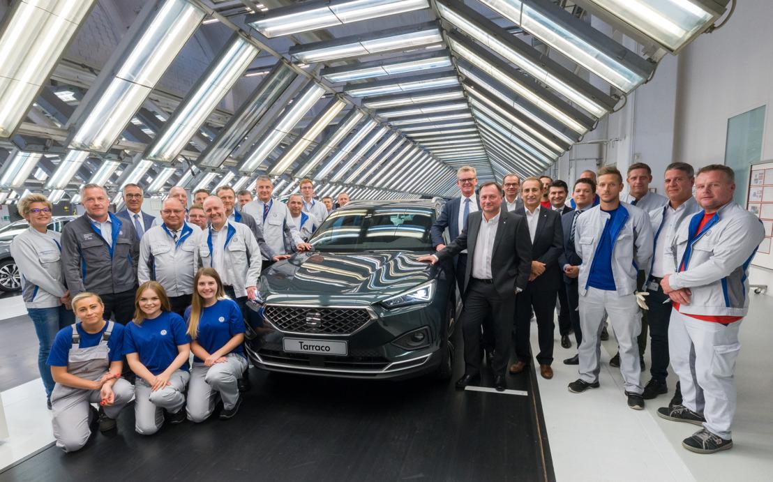 Productie van SEAT Tarraco gaat van start in Wolfsburg