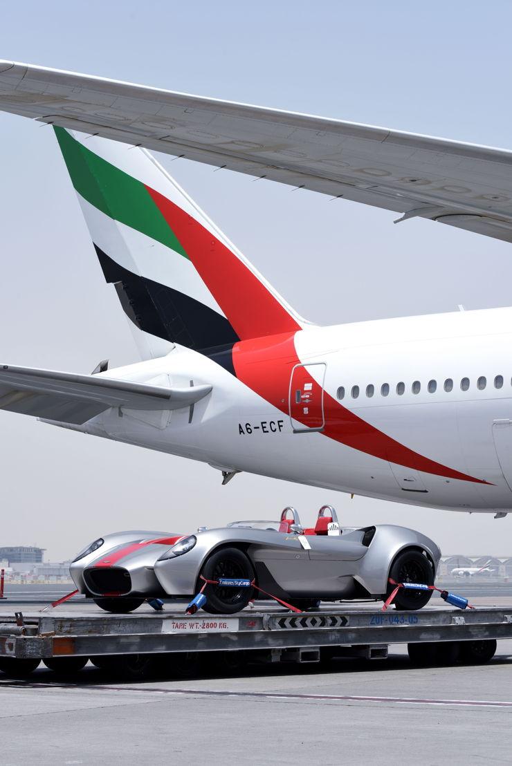 Emirates SkyCargo transports first car  built in the U.A.E.