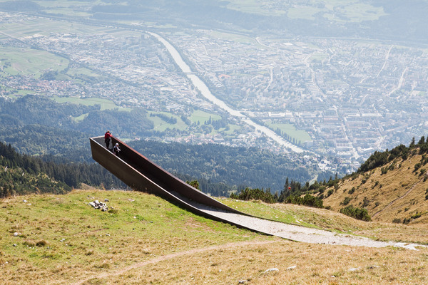 Snøhetta designs Path of Perspectives Panorama Trail on Innsbruck's Nordkette Range
