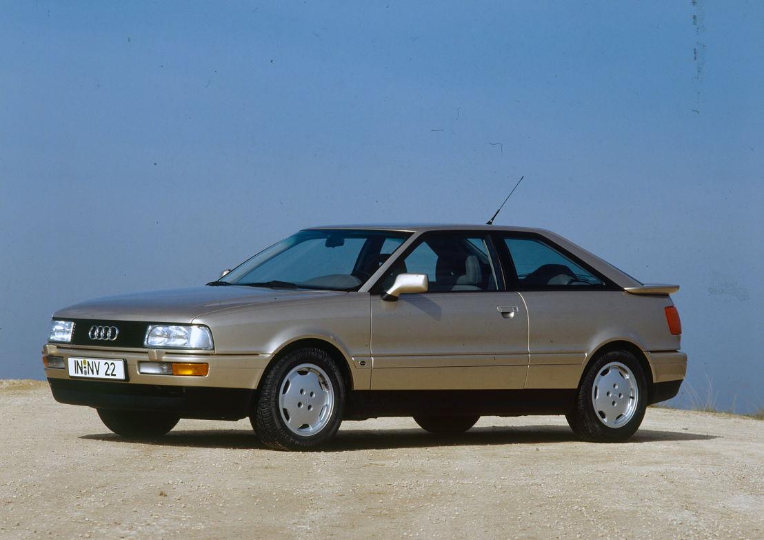 Audi Coupé 2.3E (B3), model year 1989