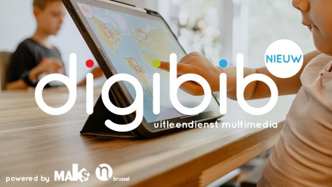 Digibib Brussels: gratis uitleendienst multimediamateriaal