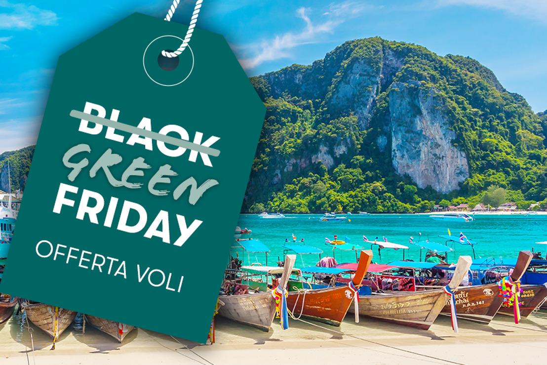 Il Green Friday prende il volo con le tariffe promozionali di Cathay Pacific