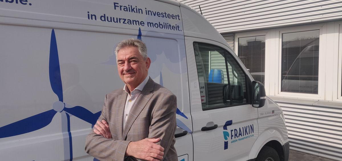 Jan Van De Perre, CEO Fraikin Benelux
