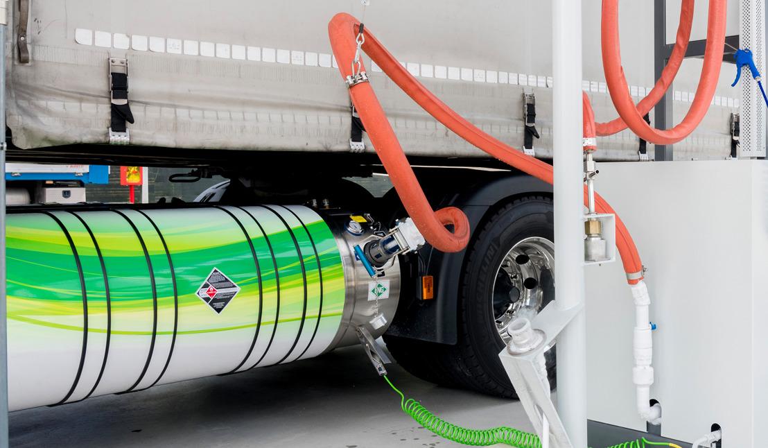 DKV vergroot acceptatienetwerk LNG tot 100 stations