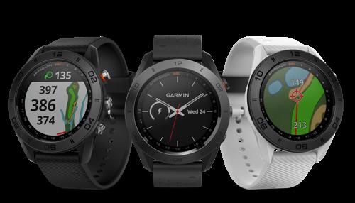 Preview: Approach® S60, een Garmin GPS-golfhorloge met een unieke stijl en ongeëvenaarde functies