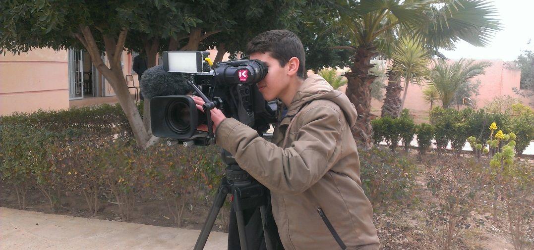 Karrewiet in Marokko : Achraf in actie - (c) VRT
