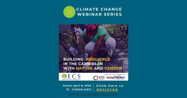 Preview: OECS and Adapt'Action to launch Environment and Resilience Webinar Series