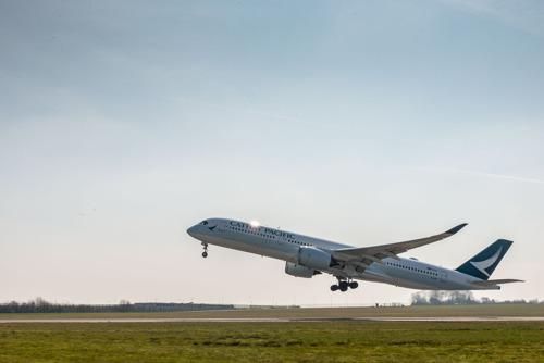 Cathay Pacific voert eerste non-stop verbinding van Brussel naar Hongkong uit