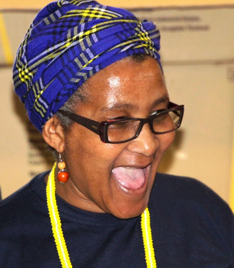Mpumi Mantangana, Nurse - Khayelitsha. Photographer: MSF