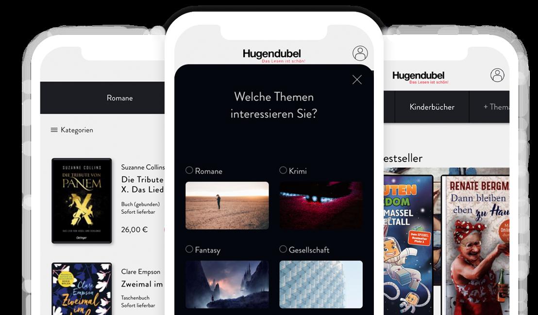Unsere neue Hugendubel App: die Welt der Bücher auf dem Smartphone
