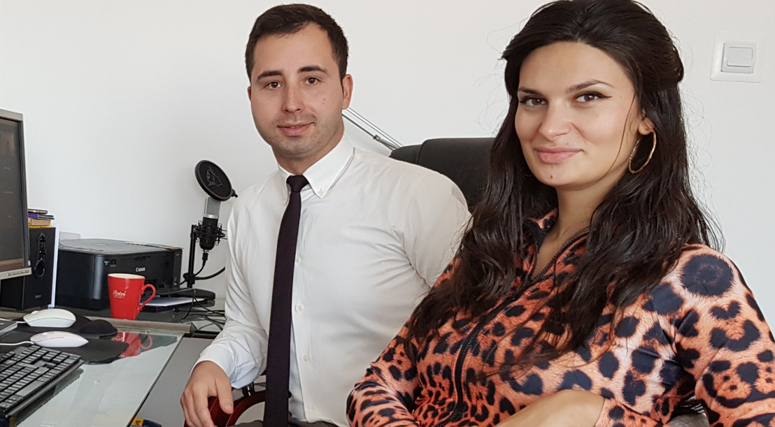Meet the Romanian couple who are one of the top talents on Electroneum's global freelance platform AnyTask