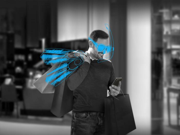 شراكة بين سكاي واردز ومول دبي خلال مهرجان التسوق