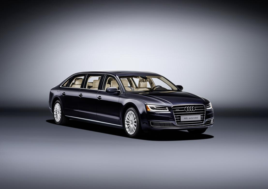 Un modèle unique: l'Audi A8 L extended