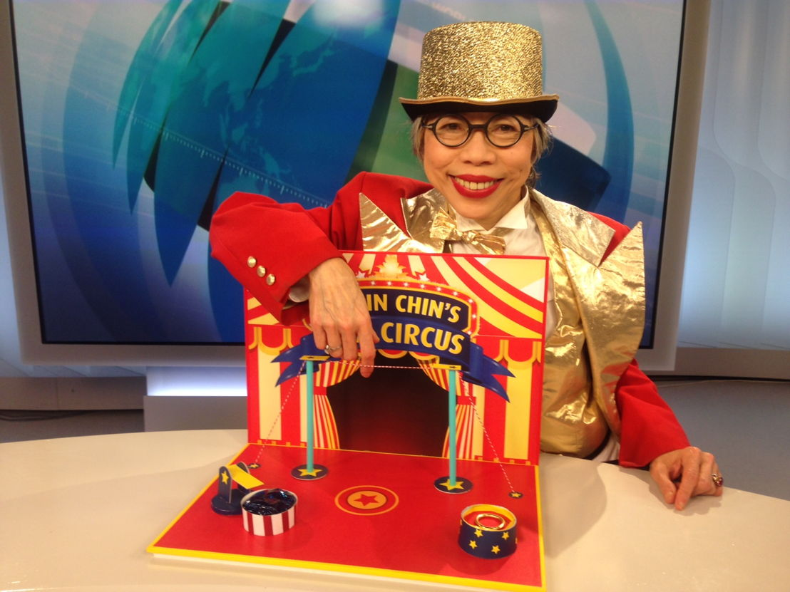 Lee Lin Chin and her flea circus