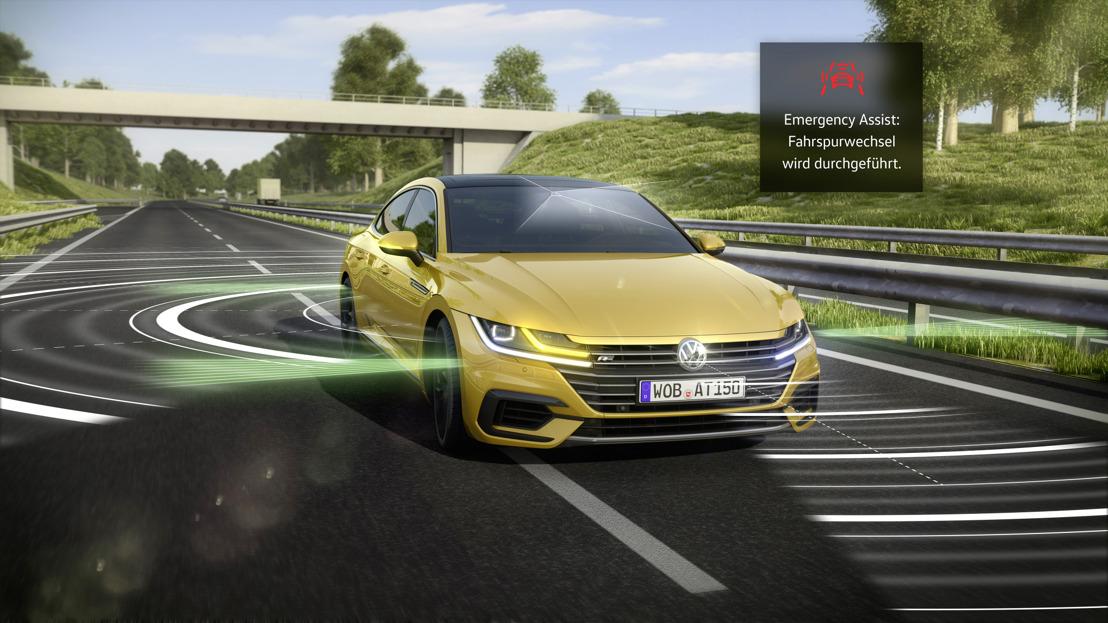 L'Emergency Assist de Volkswagen remporte le «German Mobility Award 2017».