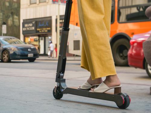 Il Gruppo Hyundai Motor svela lo scooter elettrico personale Ha un'autonomia di 20 km
