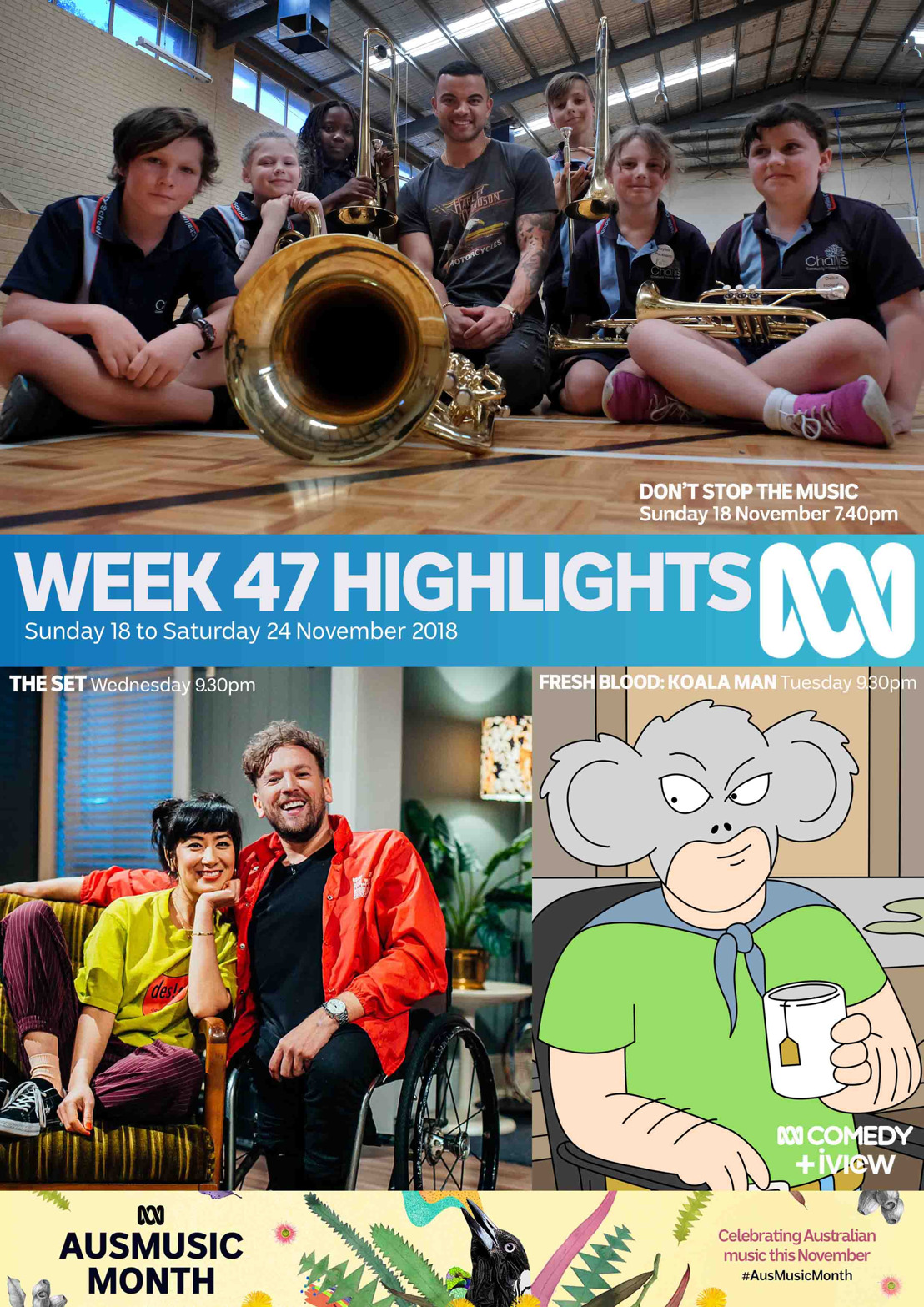 ABC TV Program Highlights - Week 47