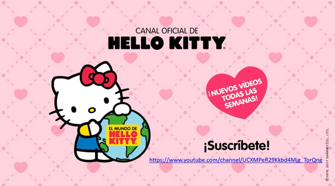 ¡Toda la ternura de Hello Kitty está en su canal de YouTube!