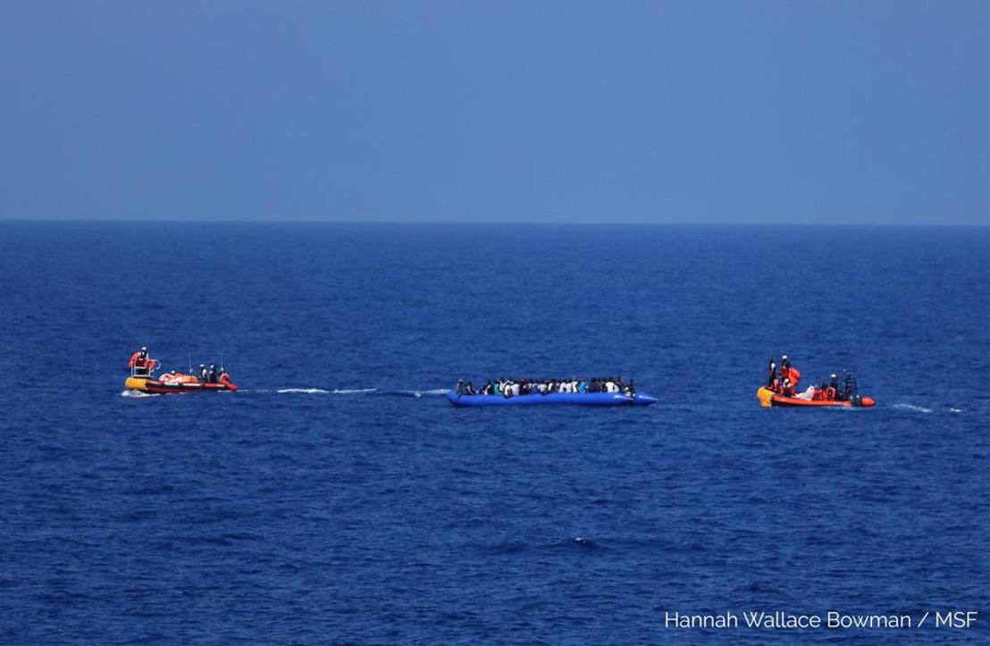 El Ocean Viking rescata a 81 personas más en su tercer rescate en el Mediterráneo Central