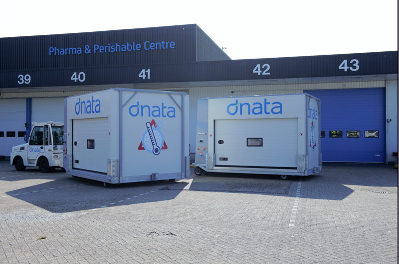 dnata Netherlands adds two new temperature controlled cargo dollies