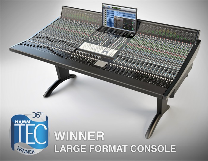 Solid State Logic ORIGIN Captures TEC Award for Outstanding Technical Achievement