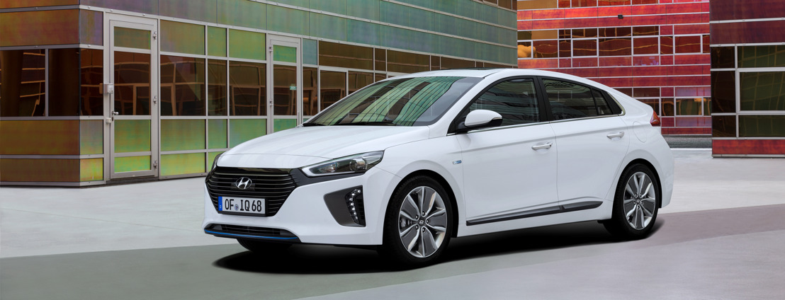 Hyundai IONIQ Hybrid: anteprima esclusiva al Comptoir Suisse a Losanna e ad ArteCasa a Lugano