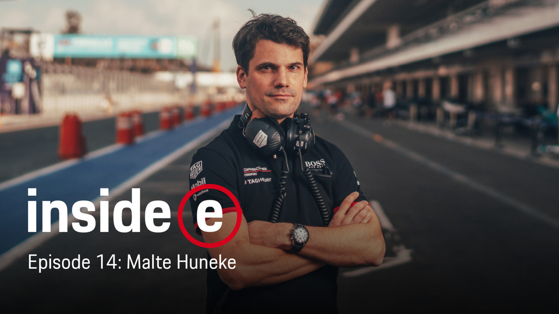 """Inside E"" podcast with the Technical Project Leader of the TAG Heuer Porsche Formula E Team"
