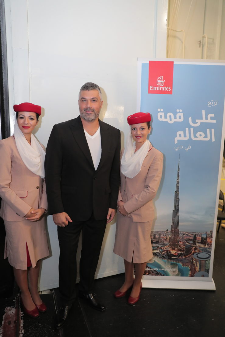 Emirates sponsored Stars on Board offers Arab fans a memorable sea voyage with Fares Karam