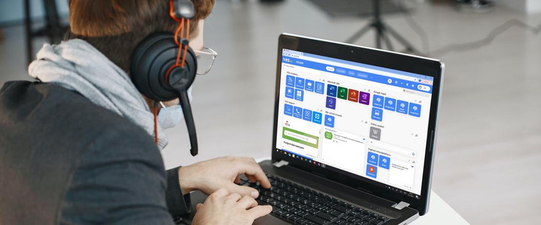 Telenet en YES.be brengen laptops, internet en digitale vaardigheden tot in de klas