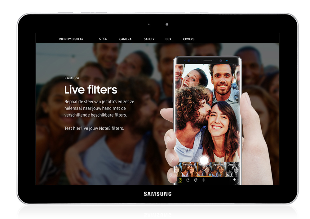 Samsung Consumer website
