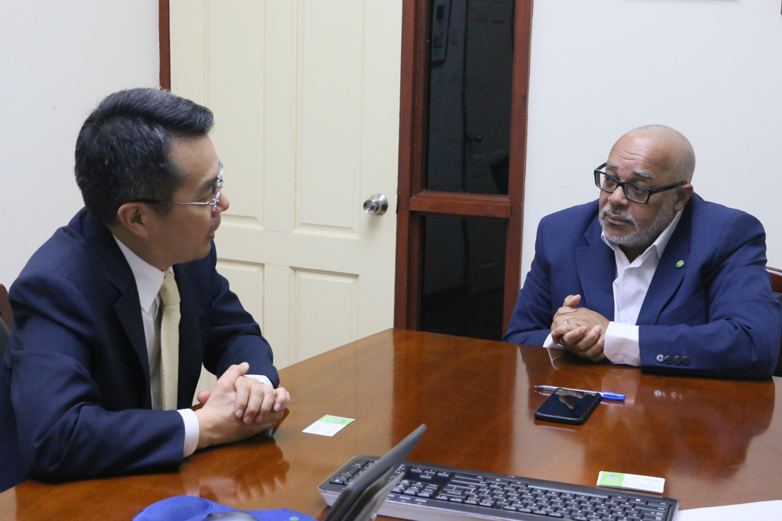 Ambassador of the Republic of South Korea Pays Courtesy Visit to the OECS Commission